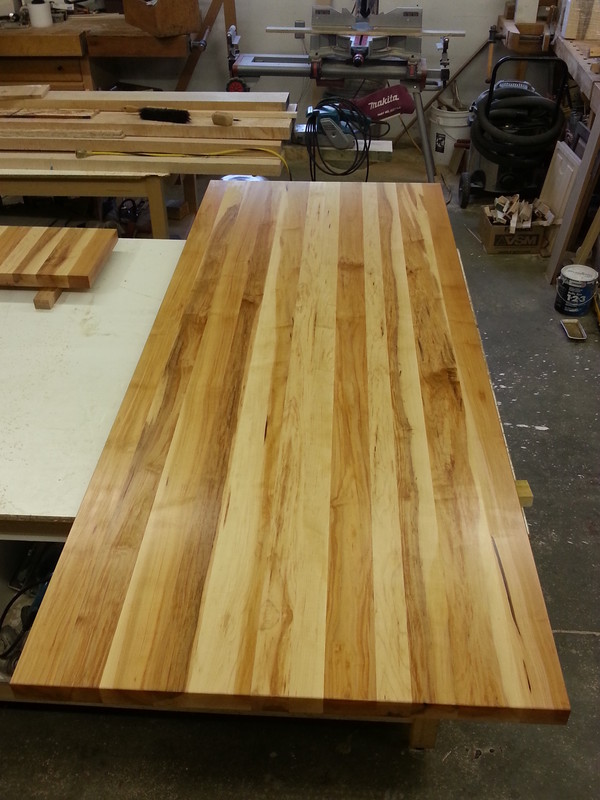 Maple wide plank Regular Maple Unselected for colour gives a rustic look