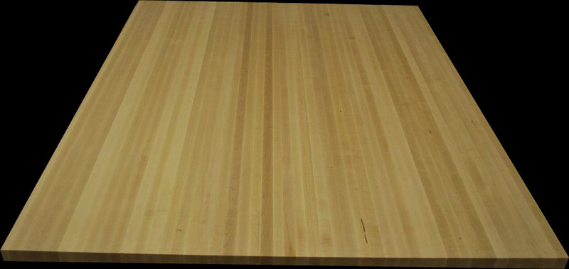 "2"" hard maple island top 72"" x 84"""