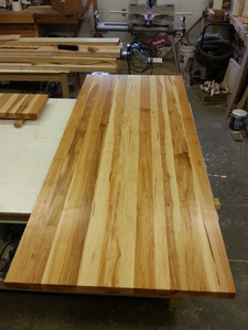 <b>Maple wide plank</b><br />Regular Maple Unselected for colour gives a rustic look