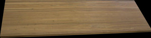 "1 1/2"" black walnut top, 25"" x 76"""