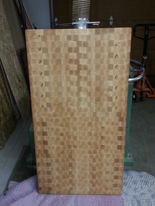 <b>Maple end grain</b>