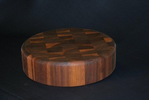 "<b>Black Walnut chopping block</b><br />3"" x 15"""